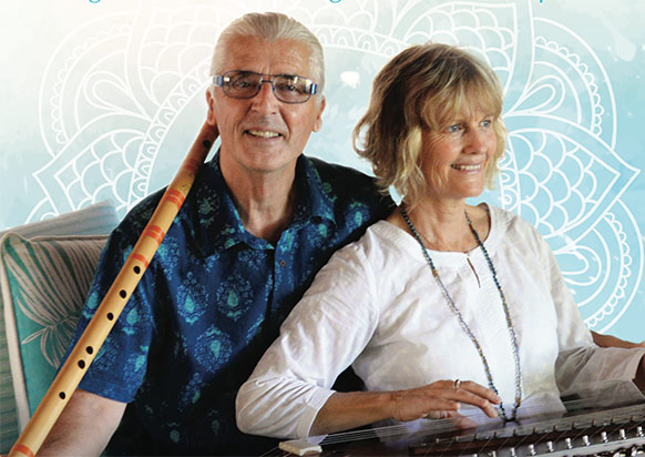 sounds and silence retreat - Terry Oldfield and Soraya