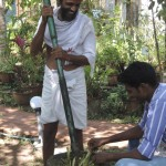Preparing Ayurvedic Herbs